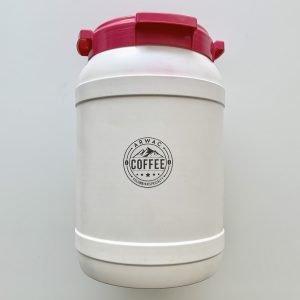 Arwac Coffee vers gebrande koffiebonen - 5 kg - herbruikbaar tonnetje