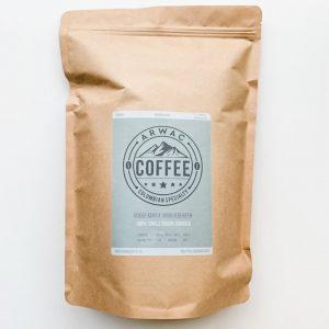 Arwac Coffee vers gebrande arabica koffiebonen - 1 kg - afbreekbare zak