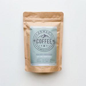Arwac Coffee vers gebrande arabica koffie - 200 gr - composteerbare zak