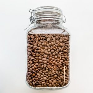 Arwac Coffee vers gebrande arabica koffiebonen - 1 kg - glazen pot